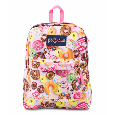 Jansport Superbreak Backpack Multi Donuts JS00T50109Y