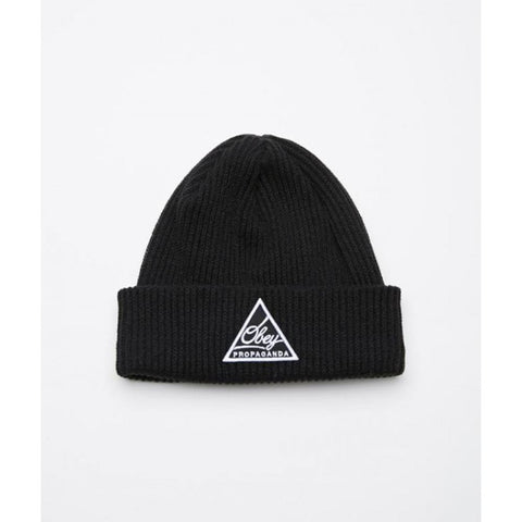 Obey Escape Beanie Black 100030114