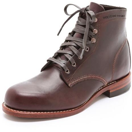 Wolverine 1000 Mile Boot CORDOVAN NO.8 W0137