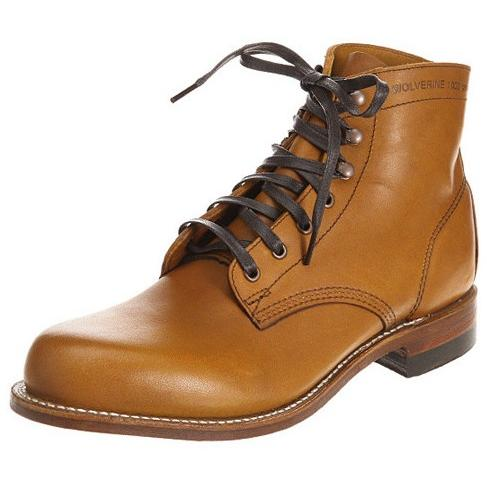 Wolverine 1000 Mile Boot TAN W5848