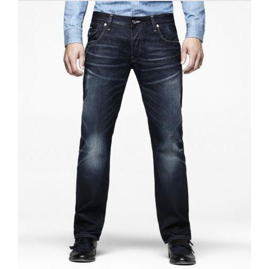 G STAR RAW MORRIS LOW STRAIGHT JEANS DARK AGED   50601.4228.89