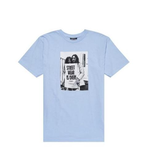 THE HUNDREDS Over T-Shirt Light Blue T16F101068