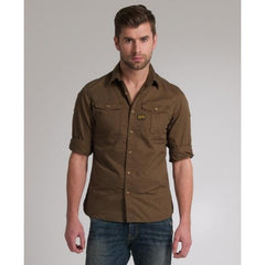 G STAR RAW NEW ATHAN SHIRT L/S WILD OLIVE   83014.2374.1866