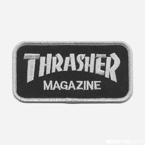 THRASHER Magazine Patch SILVER/BLACK 3130012