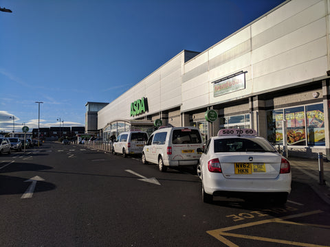 ASDA super market in Seaham, England
