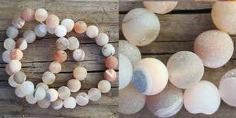 Natural Druzy Beads