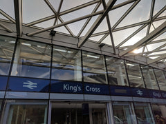 Kings Cross Rail Station