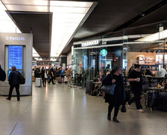 Starbucks in St. Pancras station