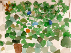 Sea Glass from French Riviera