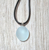 Light Blue Genuine English Sea Glass Pendant - Soul Shells