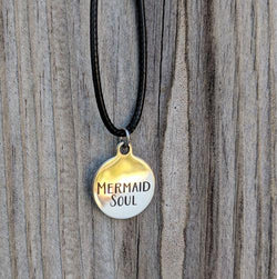 Mermaid Soul Stainless Steel Charm Necklace - Soul Shells