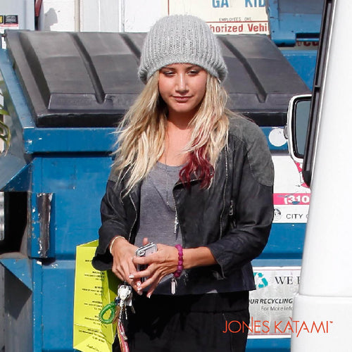 Ashley Tisdale wearing Jones Katami