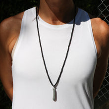 NEW! River Rock Necklace on Black Onyx