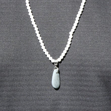 NEW! River Rock Necklace on White Howlite