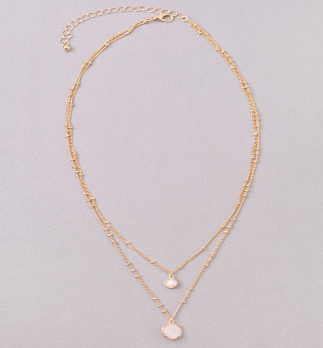 Super Cute Gold Layered Necklace