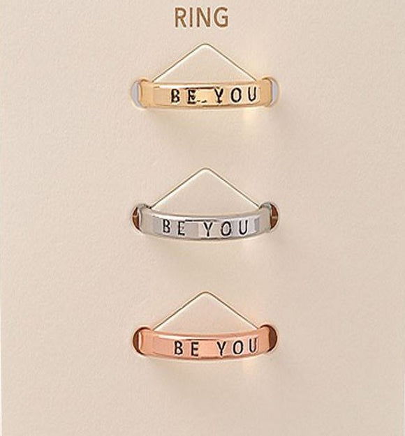 Inspirational Ring Trio