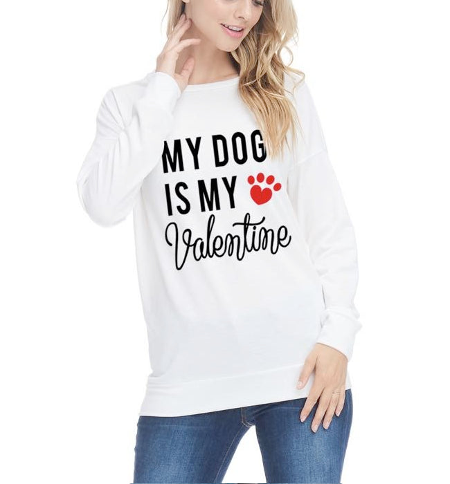 My Dog Is My Valentine Top