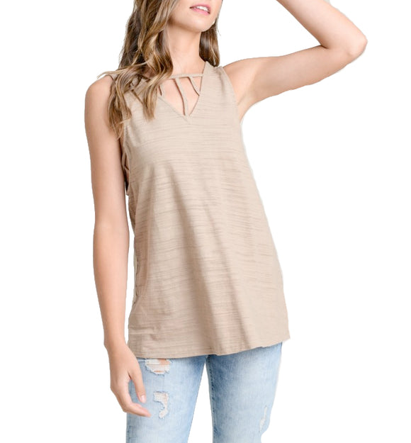 Strappy Sleeveless Top