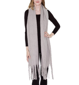 Grey Soft Touch Scarf