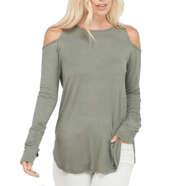 Stylish Cold Shoulder Top