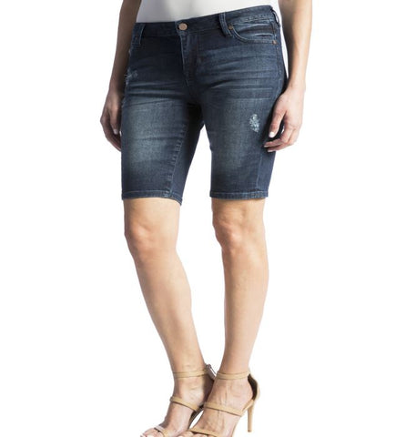 Liverpool Lightly Distressed Bermuda Short