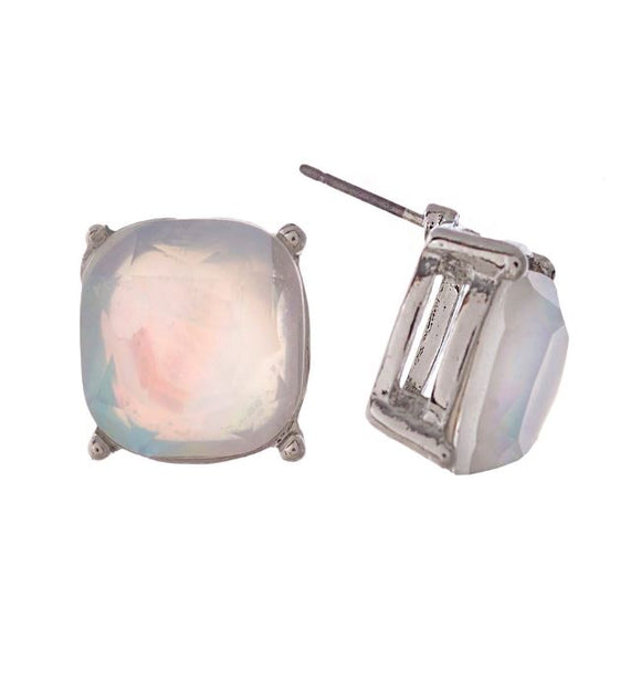 Mother of Pearl Stone Stud