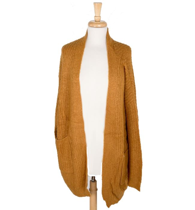 Soft Knit Cardigan with Front Pockets