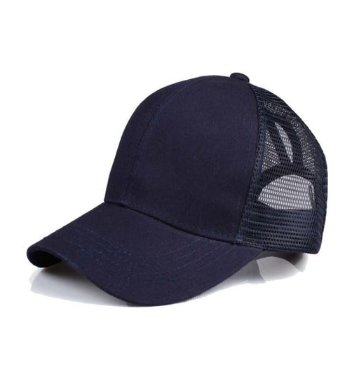 Pony/Messy Bun Baseball Hats!!! NAVY
