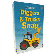 Snap Cards - Diggers & Trucks
