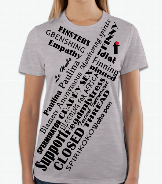 FIN Dictionary Tee in JUMBO prints - Monitoring Spirits