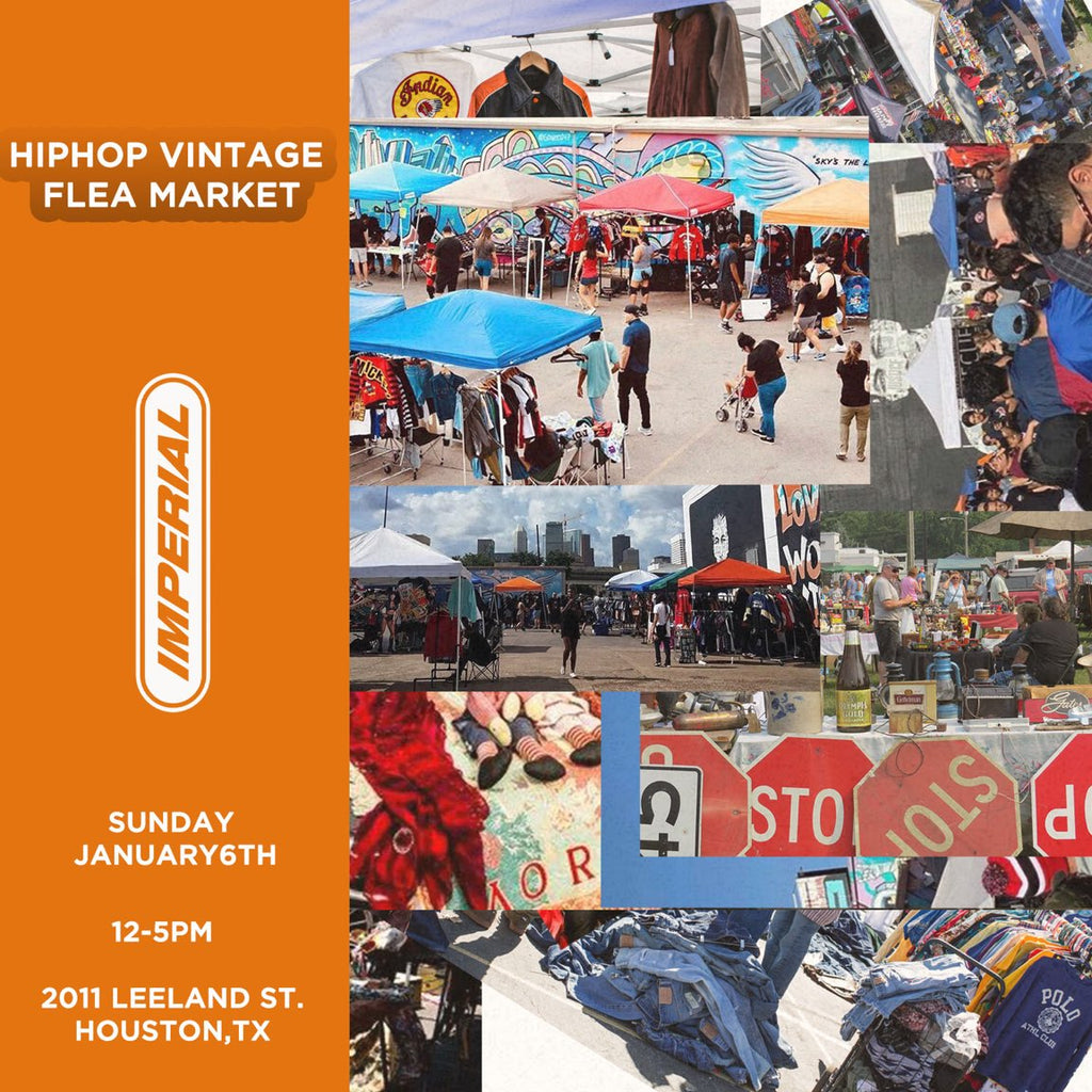 HOUSTON HIP HOP VINTAGE FLEA MARKET