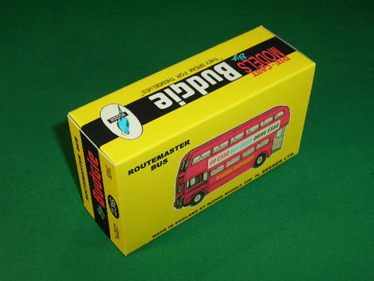 Budgie Toys #236 AEC Routemaster Bus (Go / Buy / Drive Esso).