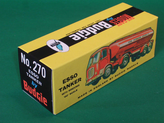Budgie Toys #270 Leyland Articulated Petrol Tanker.