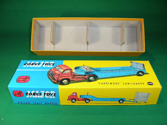 Corgi Toys. #1100 Carrimore Low Loader.