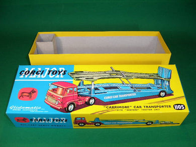 Corgi Toys. #1105 Carrimore Car Transporter with later Bedford Cab.