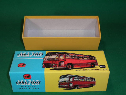 Corgi Toys. #1120 Midland Red Motorway Express Coach.