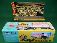 Corgi Toys. #1137 Ford Tilt Cab 'H' Series & Detachable Trailer.