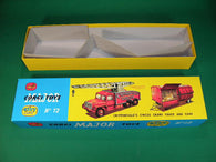 Corgi Toys. Gift Set. #12A Chipperfield's Circus Crane Truck & Cage.