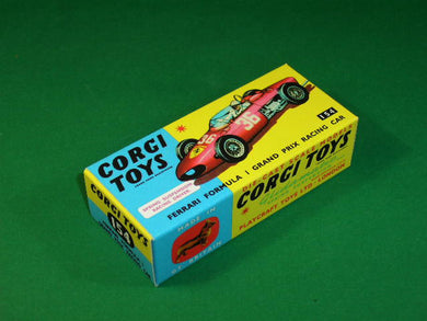 Corgi Toys #154 Ferrari Formula 1 Grand Prix Racing Car.