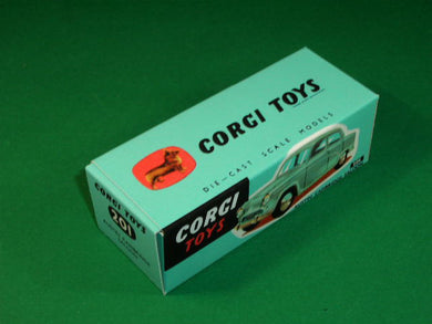 Corgi Toys #201 Austin Cambridge Saloon.