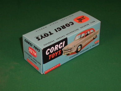 Corgi Toys #207M Standard Vanguard III Saloon - Mechanical.