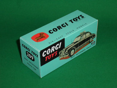 Corgi Toys #209 Riley Pathfinder Police Car.