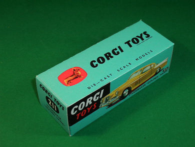 Corgi Toys #211 Studebaker Golden Hawk (no suspension).