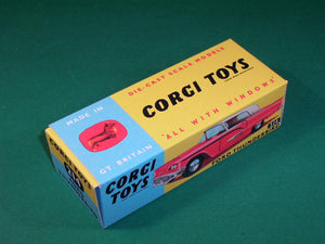 Corgi Toys #214 Ford Thunderbird Hard Top.
