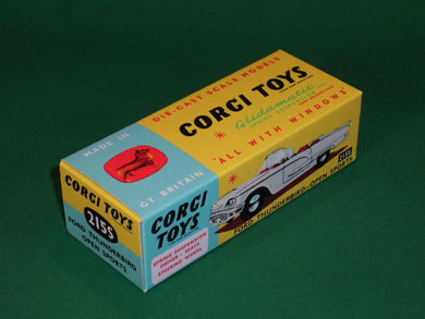 Corgi Toys #215S Ford Thunderbird Open Sports (with suspension).