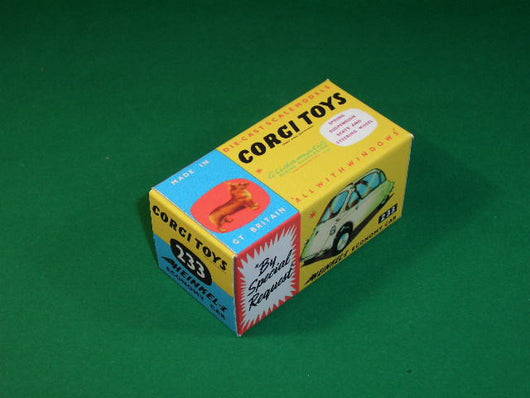 Corgi Toys #233 Heinkel Economy Car (Bubble Car).