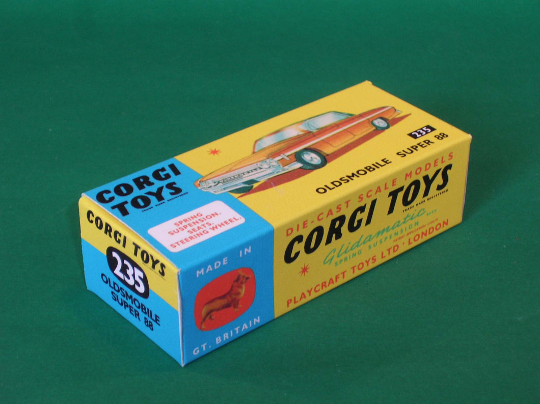 Corgi Toys #235 Oldsmobile Super 88.