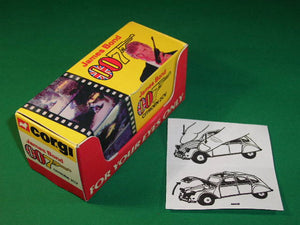 Corgi Toys #272 James Bond Citroen 2CV.