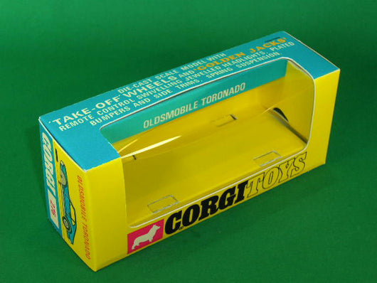 Corgi Toys #276 Oldsmobile Toronado - 'Golden Jacks'.