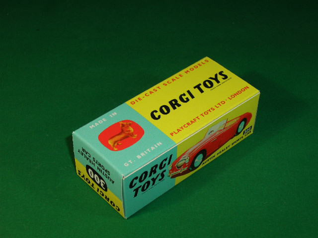 Corgi Toys #300 Austin Healey Sports Car.